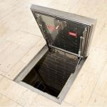 FF Systems Inc. - Series HSE 75 - Aluminum Floor Access Cover