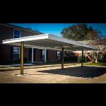 Premier Carports - T-Style Flat Roof Carports