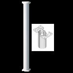 Worthington Millwork - Round Non-Tapered Aluminum Column