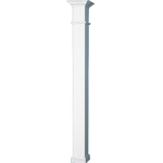 Worthington Millwork - Square Non-Tapered Wellington Aluminum Column