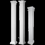 Worthington Millwork - Round Non-Tapered Fiberglass Columns