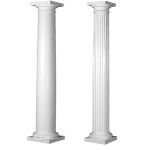 Worthington Millwork - Square Non Tapered FRP Columns