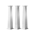 Worthington Millwork - Square Non-Tapered PVC Columns