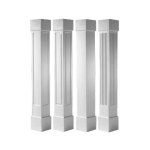 Worthington Millwork - Square Tapered PVC Columns