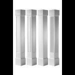 Worthington Millwork - Square Tapered PVC Columns