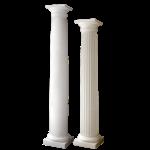 Worthington Millwork - Round Tapered Polymer Stone Columns