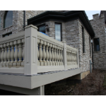 "Worthington Millwork - Balustrade System 7 1/2"" - Stone Balustrade"