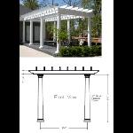 Worthington Millwork - Custom Pergola System