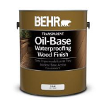 Behr Process Corporation - BEHR® Transparent Oil-Base Waterproofing Wood Finish No. 4000