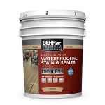Behr Process Corporation - BEHR PREMIUM® Semi-Transparent All-In-One Wood Stain & Sealer No. 5077