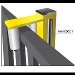 Maximum Controls - Max Edge 1 Slide Gate Safety Edge