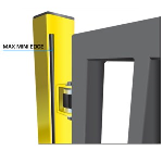 Maximum Controls - Max Mini Edge Small Footprint Slide Gate Safety Edge