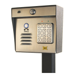 Maximum Controls - Aeromax 200K - Outdoor Long-Range Wireless Intercom with Keypad