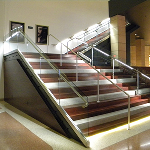 R & B Wagner, Inc. - PanelGrip® 2 Dry Glazed Glass Railing System