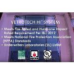Vetrotech Saint-Gobain - Vetrotech HI-System® - Fire Rated & Hurricane Impact Resistant Glazing