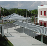 Perfection Architectural Systems, Inc. - Walkway Covers, Pitched Roof