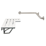 Symmons Industries, Inc. - Symmons Shower Seat and Grab Bar