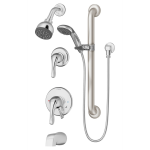 Symmons Industries, Inc. - Origins® Tub/Shower/Hand Shower System - S-9606-PLR