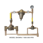 Symmons Industries, Inc. - TempControl® Hi-Low Thermostatic Mixing Valve and Piping System - 7-500-102-PRV