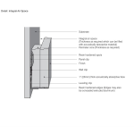Decoustics - Integral Air Space Acoustical Wall Panel