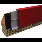 Metal-Era, Inc. - Anchor-Tite Canted Fascia - Existing Beveled Wood Nailer Version
