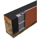 Metal-Era, Inc. - One Edge Extended Fascia Fully Adhered or Mechanically Attached Single-Ply Version
