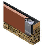 Metal-Era, Inc. - One Edge Fascia Fully Adhered or Mechanically Attached Single-Ply Version