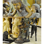 Fine's Gallery - Bronze Children Fountain - BF-756