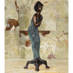 Fine's Gallery - Bronze Female Statue - BS-217