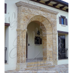 Fine's Gallery - Custom Exterior Door Surround - MD-155