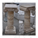 Fine's Gallery - Antique Calcium Marble Base - MBS-132