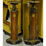 Fine's Gallery - Antique Style Base Pair - MBS-199