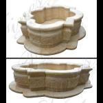 Fine's Gallery - Marble Church Baptismal Pool - MCH-004