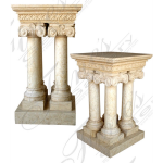 Fine's Gallery - Marble Church Lectern - MCH-005