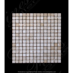 Fine's Gallery - Small Squares Marble Mosaic - MMT-027
