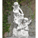 Fine's Gallery - Three Cherubs Fountain - MF-324