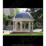 Fine's Gallery - Classical Vision Marble Gazebo - MGZ-245