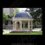 Fine's Gallery - Classical Vision Marble Gazebo - MGZ-245