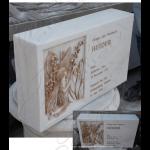 Fine's Gallery - Gold Leaf Marble Memorial - MEM-434