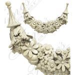 Fine's Gallery - Marble Accent Festoon - MACC-001