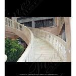 Fine's Gallery - White Onyx Staircase - BAL-057