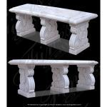 Fine's Gallery - Marble Bench - MBE-683