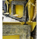 Fine's Gallery - 19th Century Bolection Marble Surround - MFP-1189