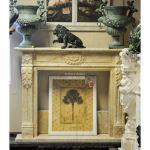 Fine's Gallery - Beige Regency Mantel - MFP-1750