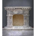 Fine's Gallery - Antique Style Marble Fireplace - MFP-984