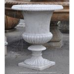 Fine's Gallery - White Marble Planter - MP-274