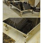 Fine's Gallery - Marquina Black Coffee Table - MT-246