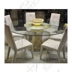 Fine's Gallery - Onyx Glass Table Base - MT-254