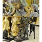 Fine's Gallery - Bronze Children Fountain - BF-756