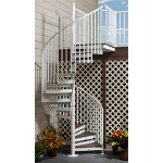 Trex Corporation - Trex Spiral Stairs for Exterior Decks